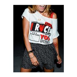 Cami I Rock you Aire Retro mucho Blanca