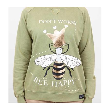 "Sudadera Anabel Lee ""Bee Happy"""